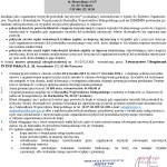 pisemne posiadanie gwarancji ubezp. 2012